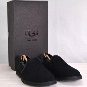 Ugg Cooke Slip On Black Loafers  (A13-6A)